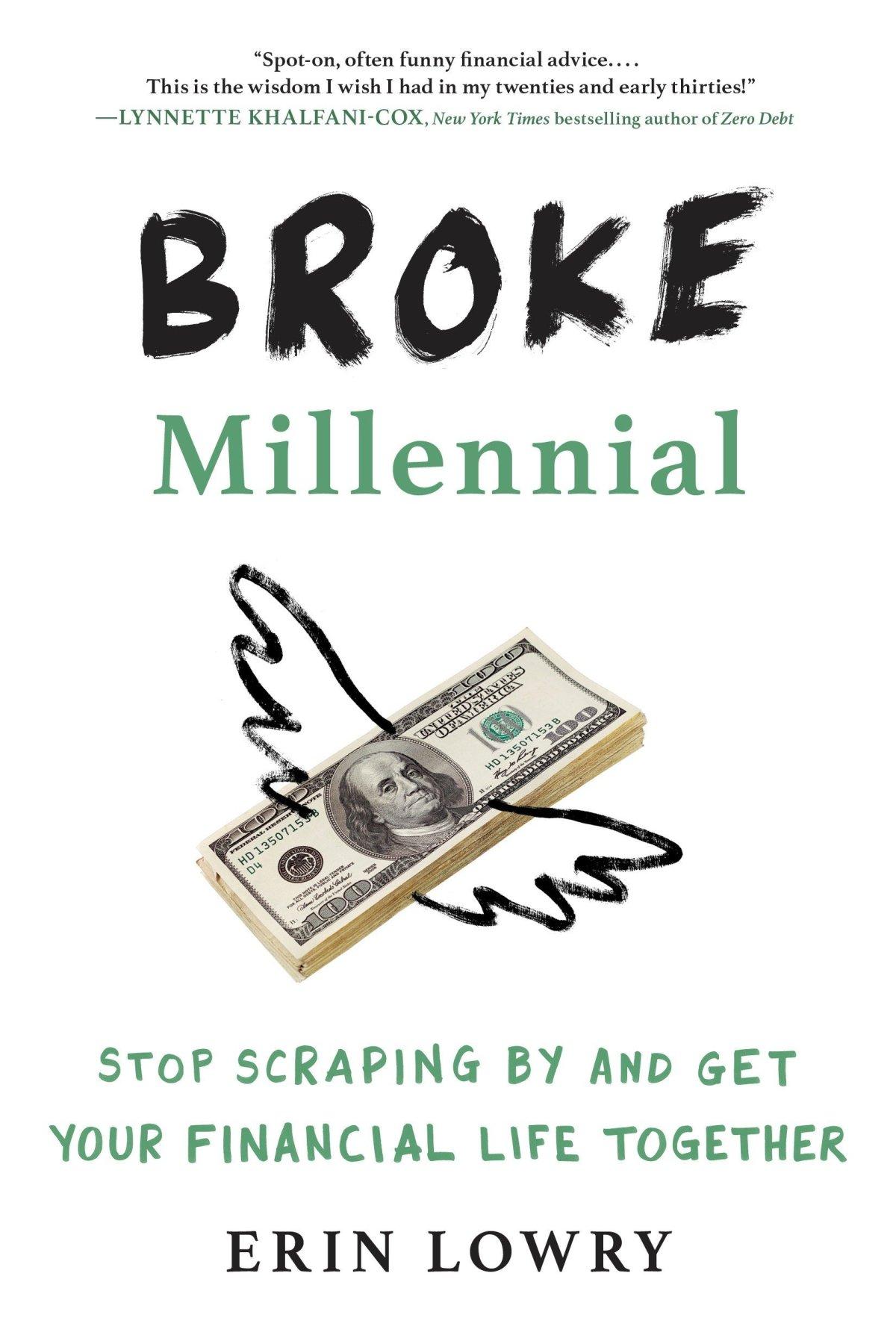 broke millennial review - erin lowry