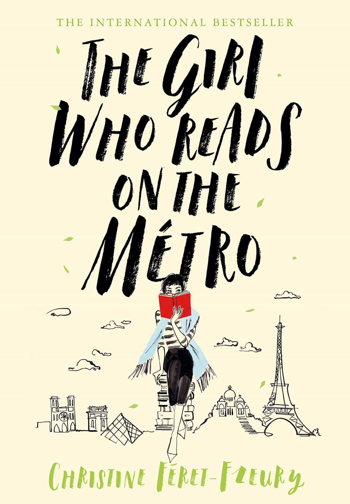 Christine Féret-Fleury - The Girl Who Reads on the Metro