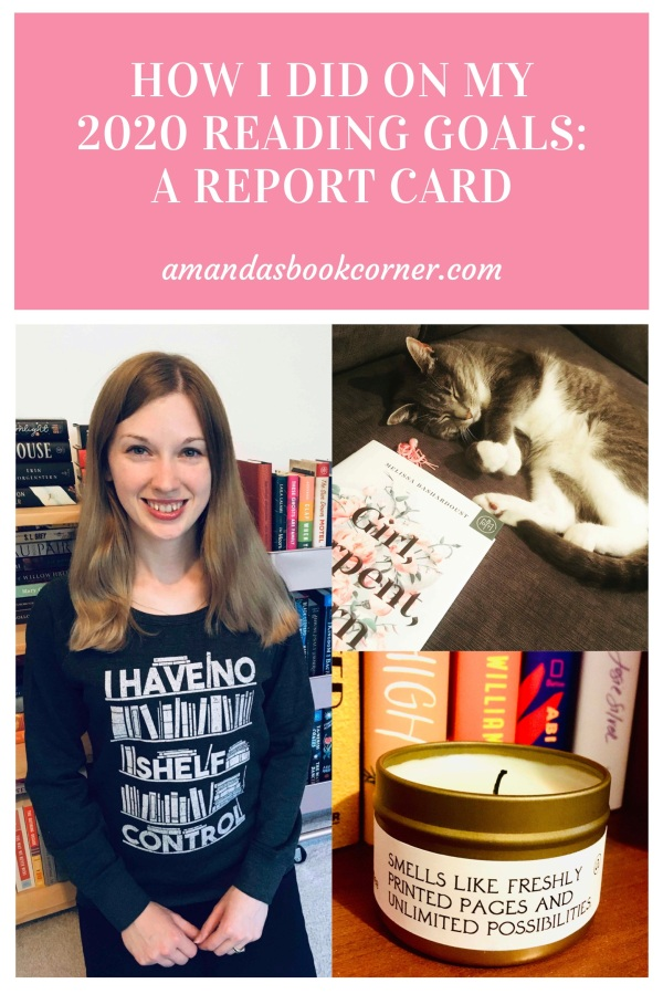How I Did on My 2020 Reading Goals: A Report Card